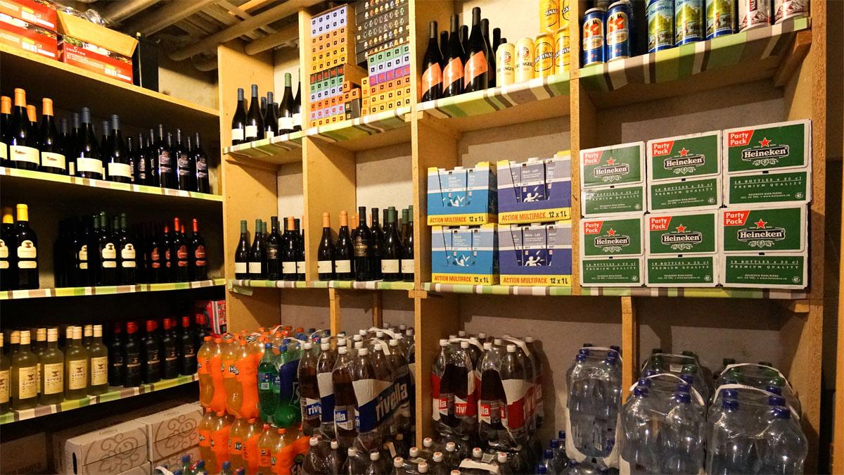Getränkeverkauf